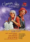 stage de créativité: clown, danse, voix, couleurs