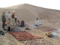 Voyage dans le désert Tunisien :  Simplement Être