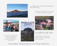 Stage Ressourcement Nature & Sophrologie  La Sève de Vie