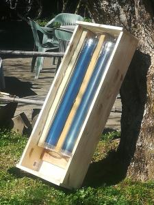 Atelier tubes de cuisson solaire