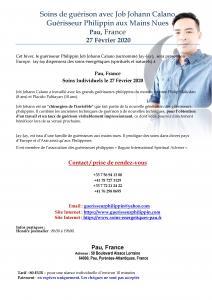 Guérisseur Philippin Job Johann Calano à Pau, France