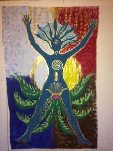 WEEK END créatif avec le Soul Art (art de l'âme) : le Bodymapping