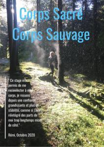Corps Sacré Corps Sauvage