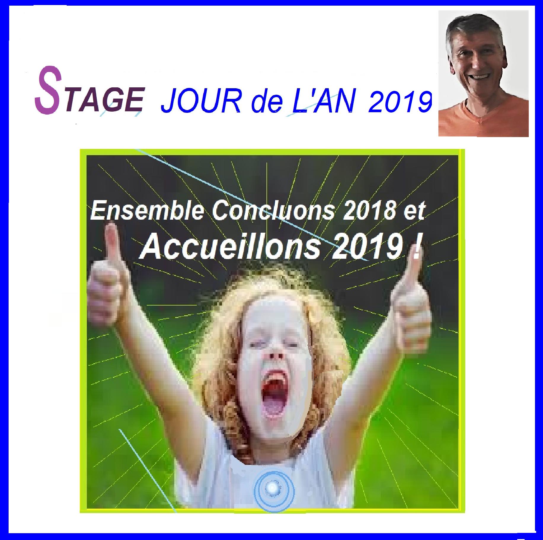 Stage Jour de L'An 2019 : Passons le ensemble !