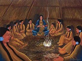 Cérémonie Chamanique Mexicaine - Danse de la lune