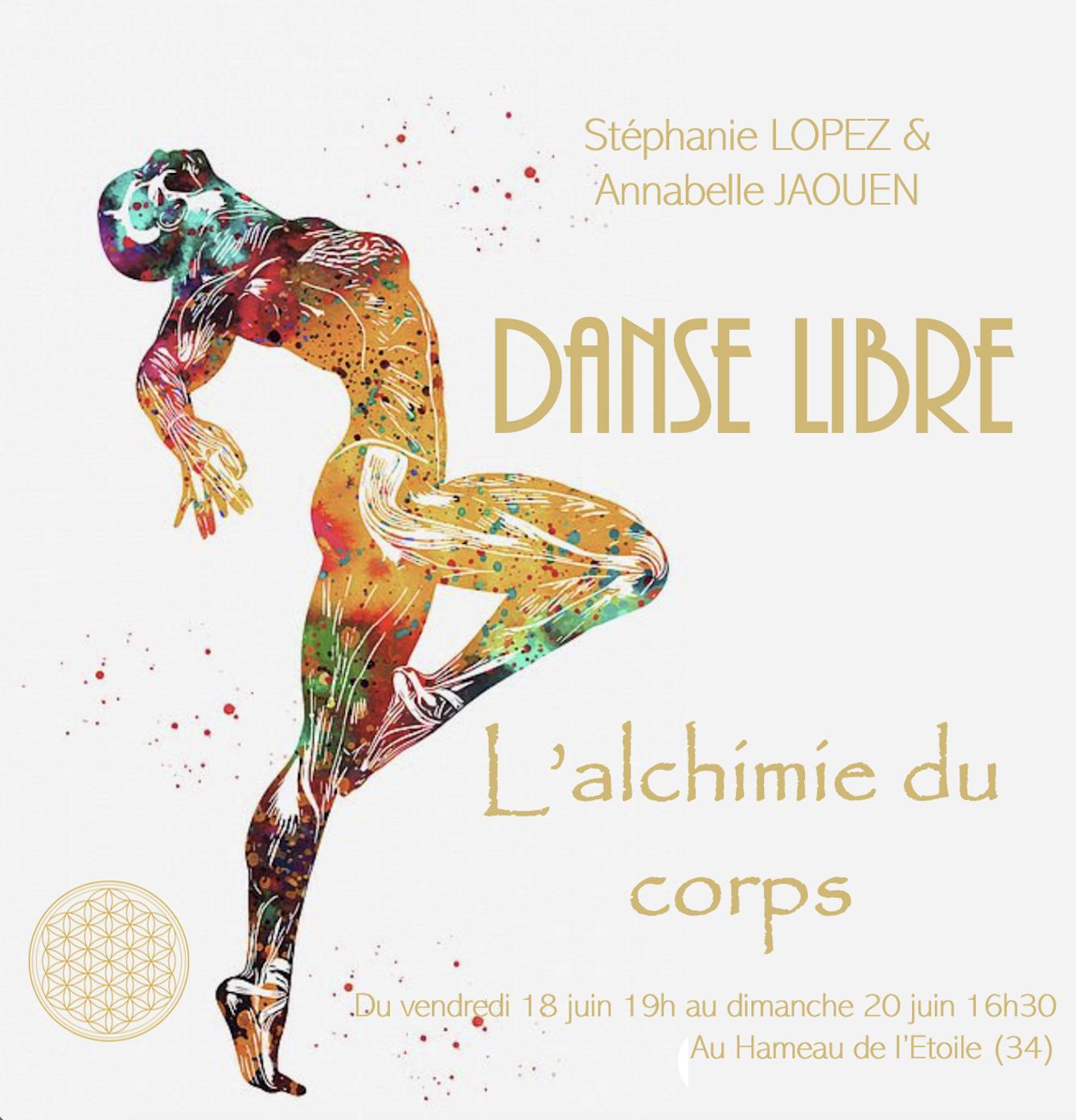 Weekend Danse Libre -  L'alchimie du corps