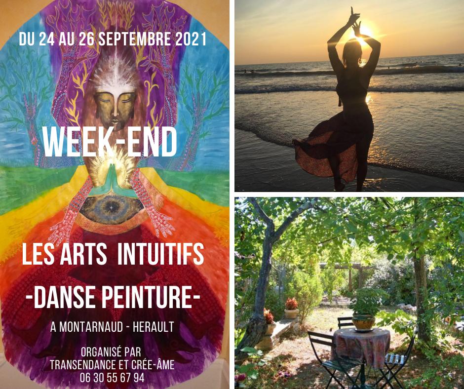 Les Arts Intuitifs (danse, peinture) Reconnecter SOI/CORPS/CRÉATIVITÉ